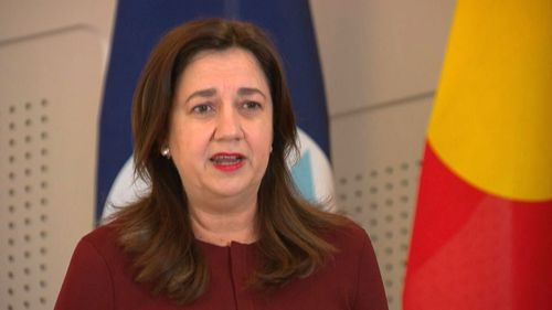 Premier Annastacia Palaszczuk gives her daily COVID-19 update.