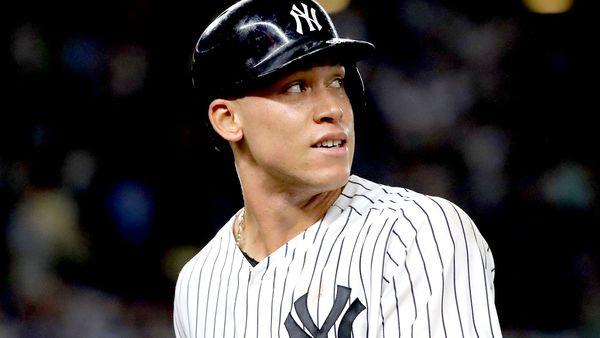 New York Yankees star Aaron Judge. (Getty)