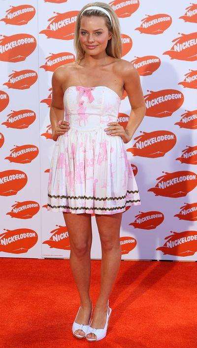 Margot Robbie: Then...