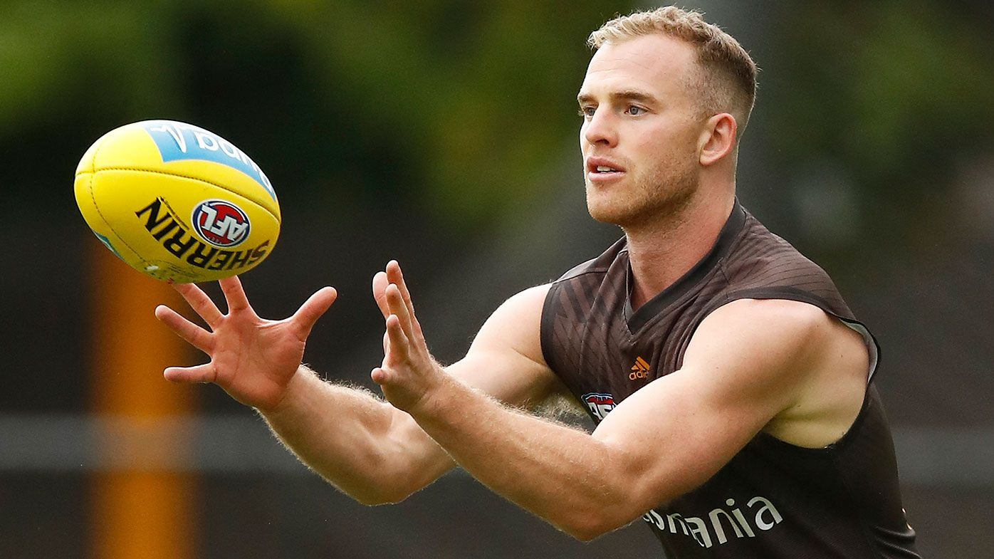 Hawthorn's Tom Mitchell concedes he won't be at his best when season resumes