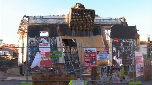 The final wall has been knocked down at the former Subiaco Pavilion Market, bringing an end to an iconic part of the city's makeup.