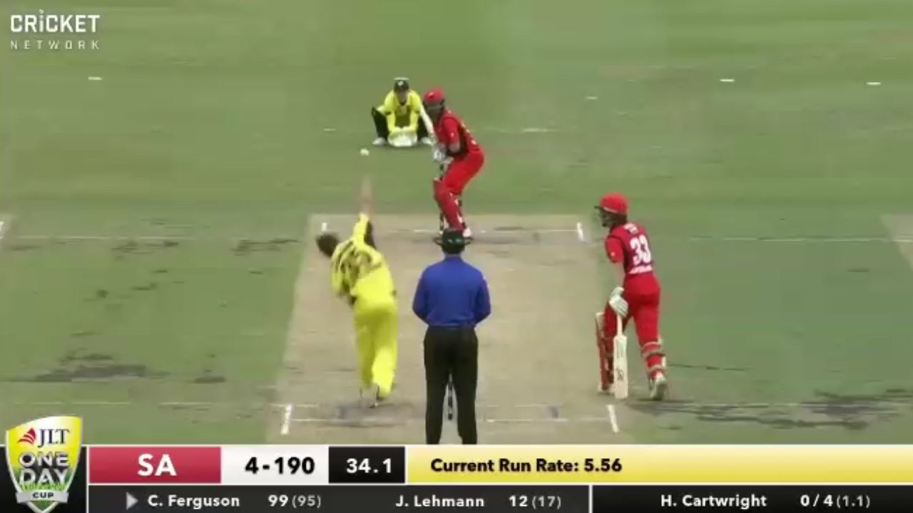 Test discard belts career-best knock in ODI