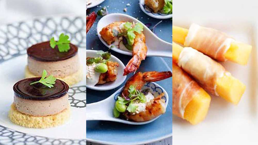 Canape recipes for spring racing gallery