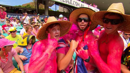 A sea of pink will take over the SCG today.