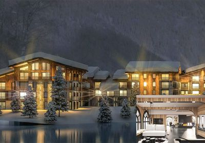 Two bed ski apartment, France, $999,000