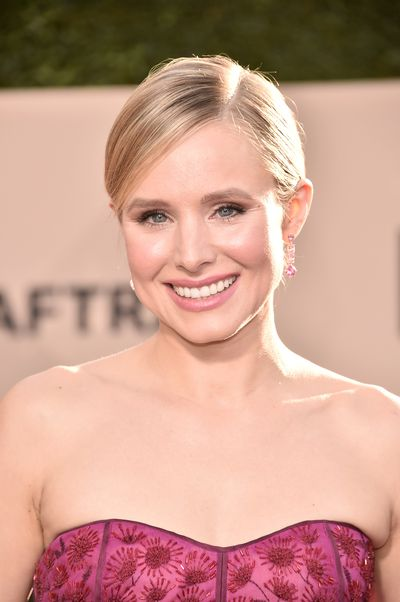 <p><strong><em>Blush</em></strong></p> <p>SAG host Kristen Bell went for a soft and feminine beauty look for her first-ever major hosting role. Bell's softly, blushed cheeks hit all the right notes and complemented her delicate pink J. Mendel gown.</p>