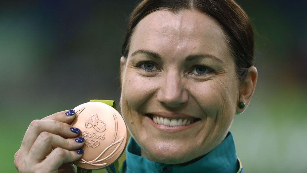 Anna Meares. (AFP)
