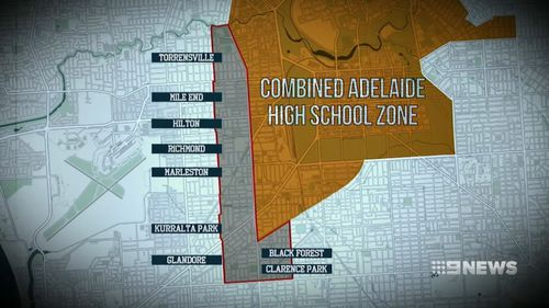 The reduction will see hundreds of students rendered ineligible for selection at Adelaide's two city schools.