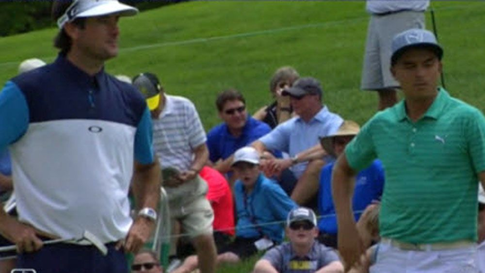 'Not so tough now': Tour pro confronts heckler