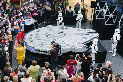 Largest Lego Millennium Falcon<br><br>