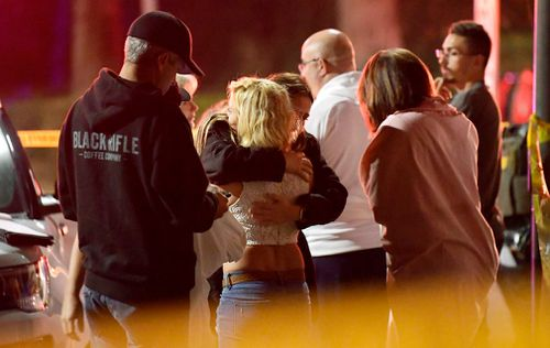 Local police authorities said around 10 other people were injured in the shooting.