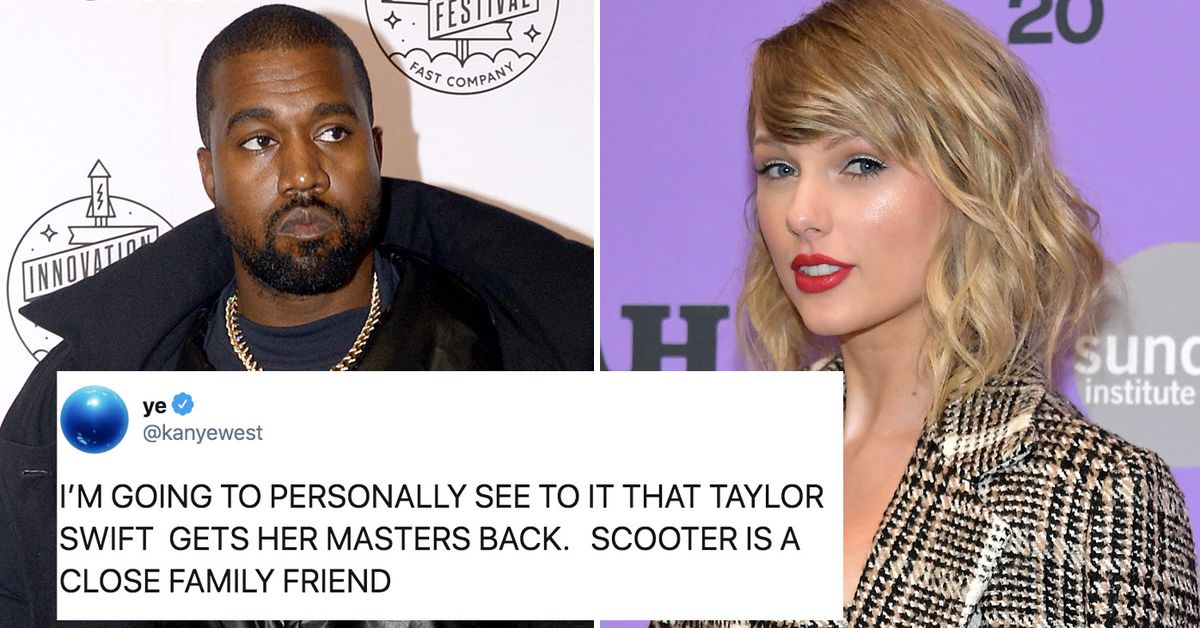 Kanye West vows to get Taylor Swift her 'masters' back and tweets about being murdered in another rant – 9TheFIX