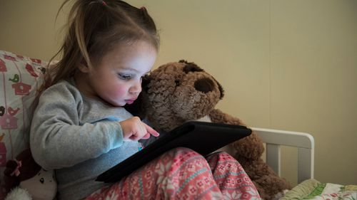 Toddlers who play with touchscreens sleep less: study