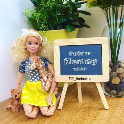 Tiff's first pregnancy announcement - future mummy boss ...