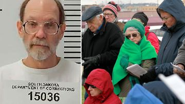 South Dakota Circuit Judge Jon Sogn has denied Rhines' (left) request to delay his execution.