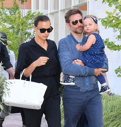 Bradley Cooper, Irina Shayk and daughter Lea
