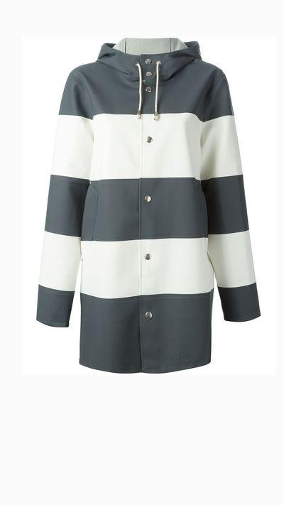 "<p><a href=""http://www.farfetch.com/au/shopping/women/stutterheim-stockholm-raincoat-item-10974741.aspx?storeid=9600&amp;ffref=lp_22_4_"" target=""_blank"">Stockholm raincoat, $485.05, Stutterheim</a></p>"