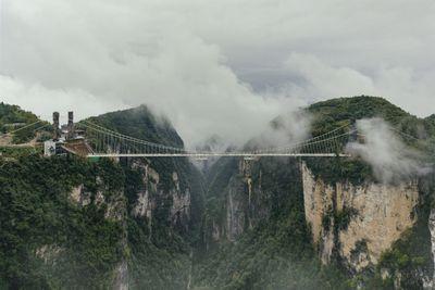 <strong>The Zhangjiajie Canyon Bridge, China</strong>