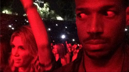 "Actor Marlon Wayans called Delta Goodrem ""unrhythmic"" in a photo he posted on social media. (Supplied)"