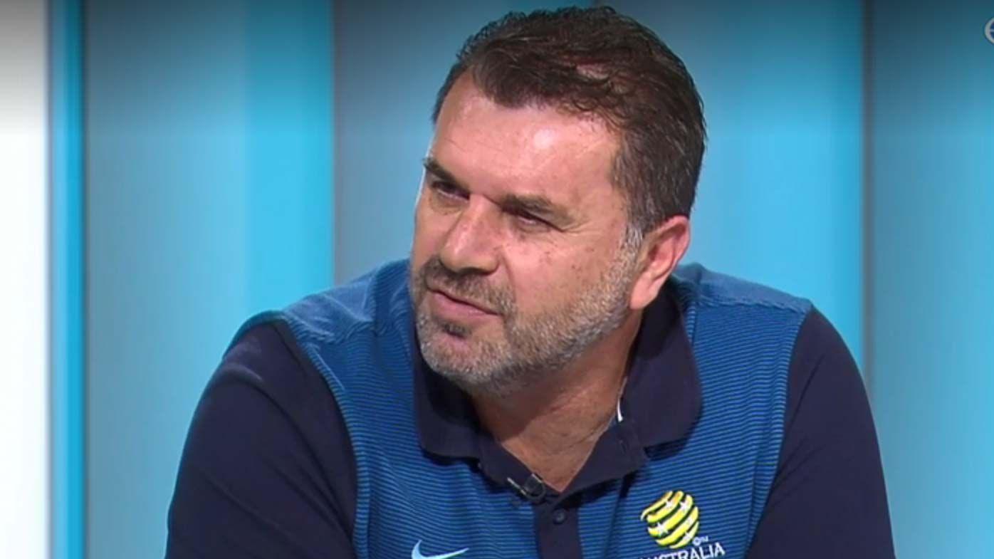 Former Socceroos coach Ange Postecoglou urges Bert van Marqijk to take Daniel Arzani and Tim Cahill