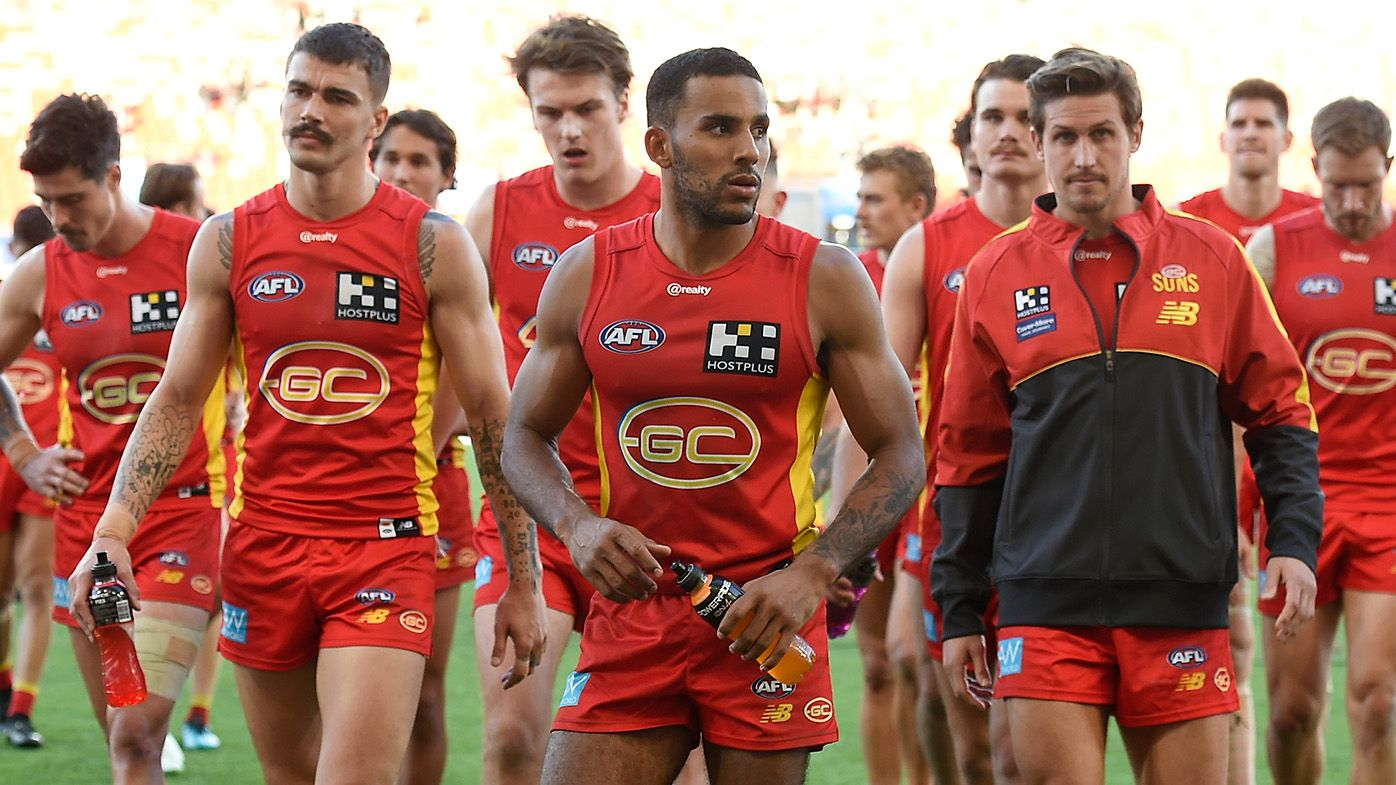 Jonathan Brown roasts 'embarrassing' Gold Coast over insipid display against Port Adelaide