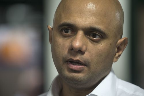 The UK government's Interior Minister Sajid Javid has also called an emergency meeting to address the incident. Picture: AAP.