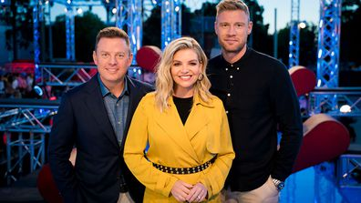 Bec Maddern is looking forward to working with her fellow hosts Ben Fordham and Freddie Flintoff.