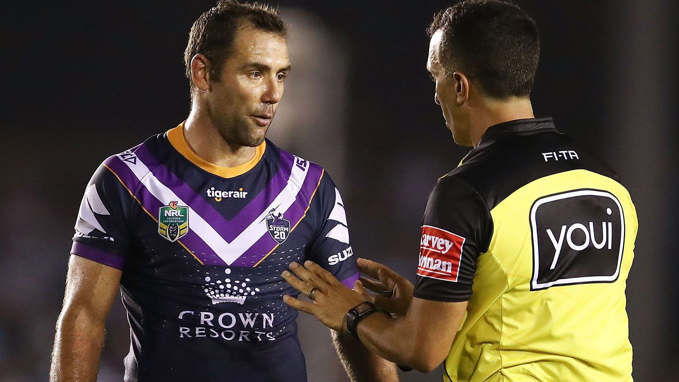 Peter V'landys says the NRL may look to reduce the amount of times referees can go to the bunker