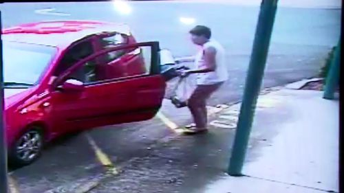 One woman was caught stealing on camera multiple times.