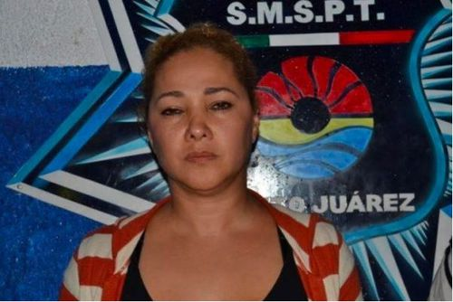 'Dona Lety' was yesterday told she will stand trial on drug trafficking charges. The cartel leader is behind much of Cancun's recent gun violence, according to local media reports.