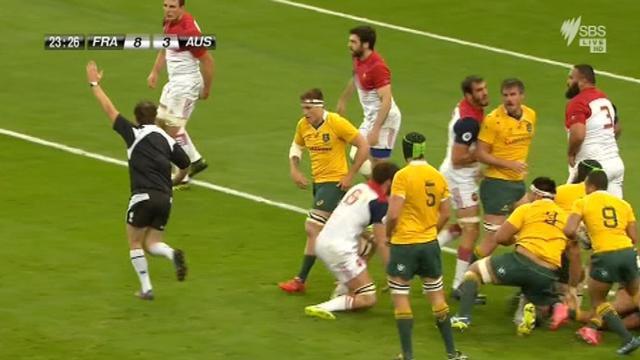 Wallabies awarded penalty try