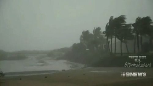 The system brought hurricane force winds and torrential rain to Broome. (9NEWS)