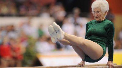 World's oldest gymnast