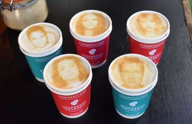 china s selfie printed coffees let you drink yourself up 9kitchen