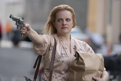 Elisabeth Moss in crime period drama The Kitchen.