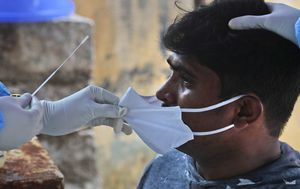 India's coronavirus cases nearing five million after spike of more than 600,000 in a week