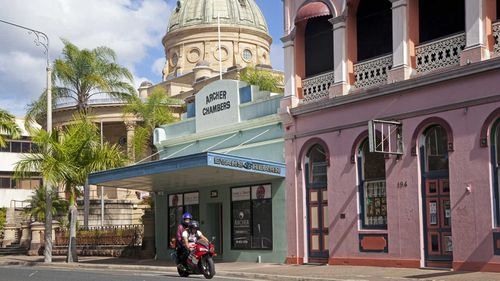 Rockhampton is at the centre of the city of Capricornia.
