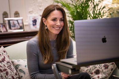 Duke and Duchess of Cambridge do Zoom engagements