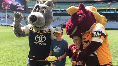 <p>Brisbane Broncos and North Queensland Cowboys fans are bursting with excitement ahead of the first all-Queensland NRL grand final tomorrow.</p><p><strong>Click through the gallery to see how fans are celebrating and the teams are preparing</strong>.</p><p>(Twitter / @NRL)</p>