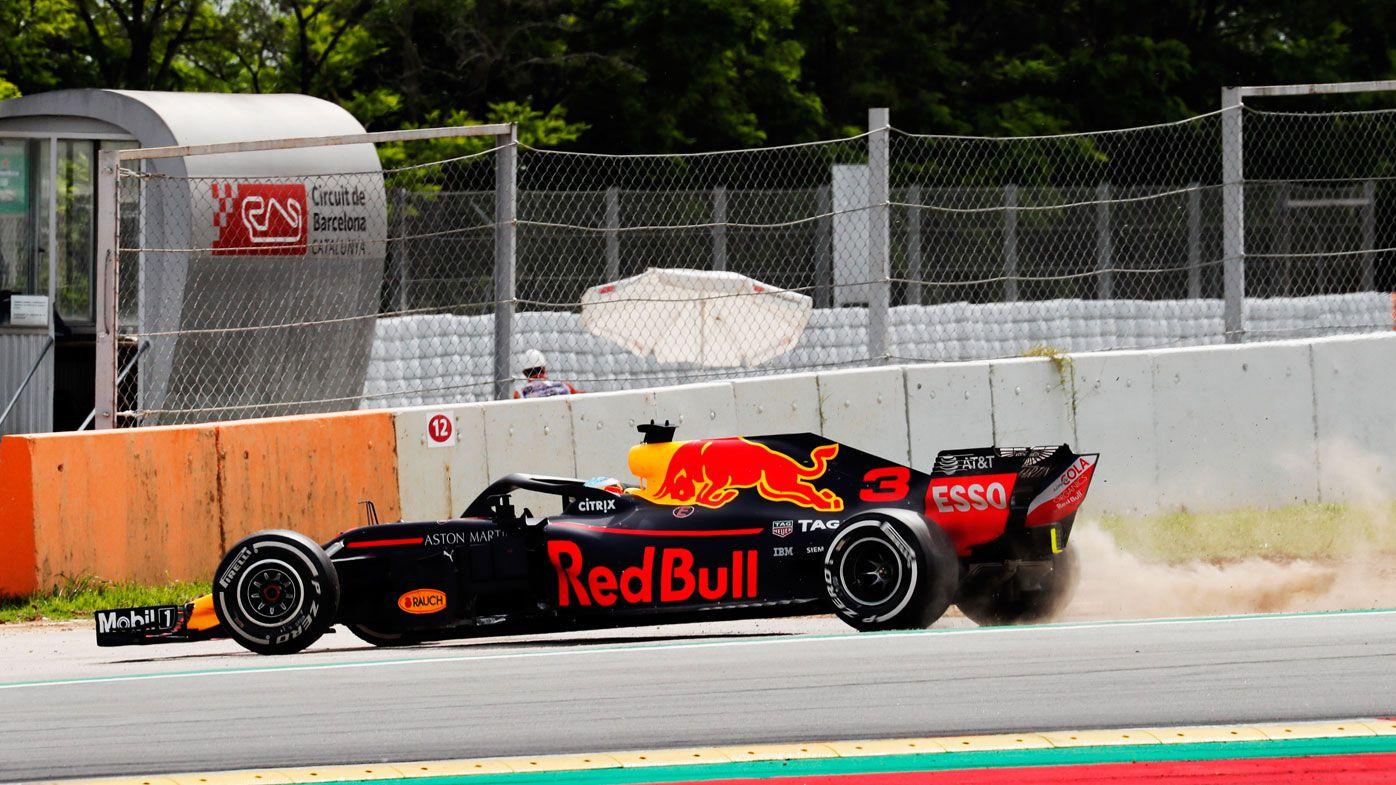 Australia's Daniel Ricciardo struggles with new Red Bull car at Spanish Formula One Grand Prix