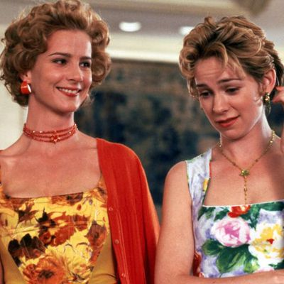 Rachel Griffiths and Carrie Preston as Samantha and Mandy: Then