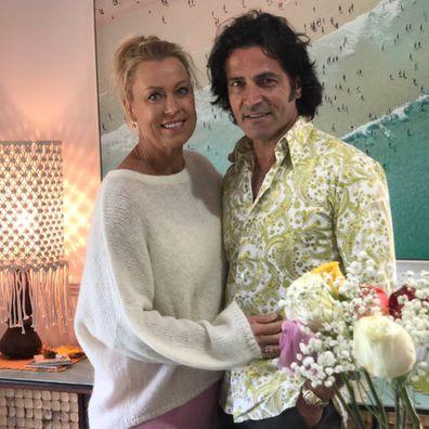 Lisa Curry and Mark Tabone