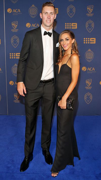 Billy Stanlake and his partner Maddison Lochert.