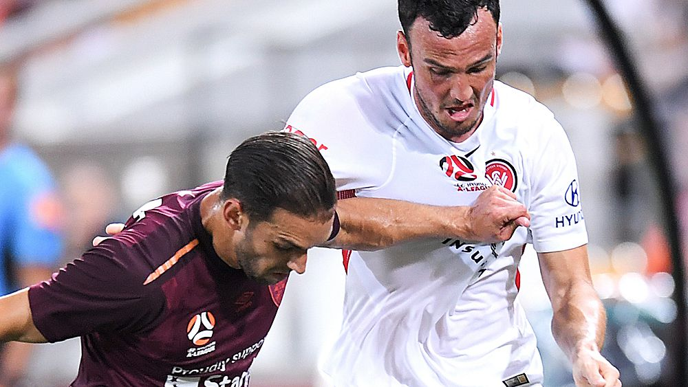 A-League: Western Sydney Wanderers down Brisbane Roar