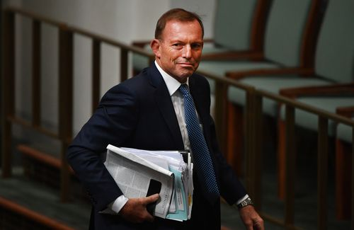 "Former prime minister Tony Abbott has said ""life is not fair"". (AAP)"