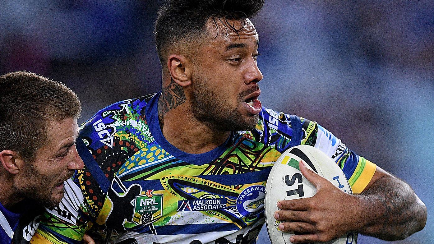 Parramatta Eels stand down Kenny Edwards over driving charge