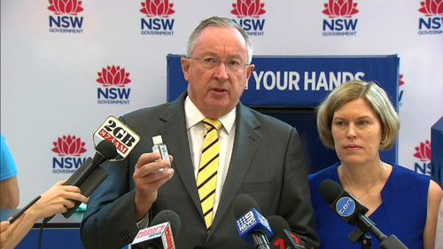 NSW Health Minister Brad Hazzard launched a $1.77m campaign today.