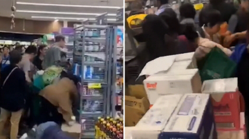 Baby formula causes violent scrum in Melbourne supermarket