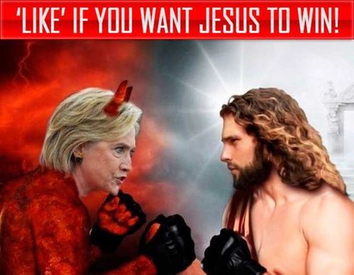 One of many posts by Russian troll accounts posted on Facebook during the election.