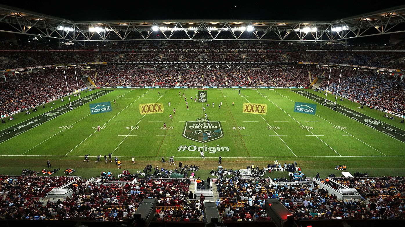 Capacity crowd for State of Origin decider at Suncorp Stadium